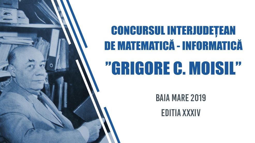 "Supporting the ""Grigore Moisil"" mathematics-informatics competition"