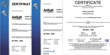 The final audit for DIN EN ISO 9001:2000 certification